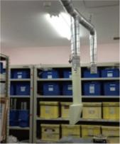集塵機設置工事